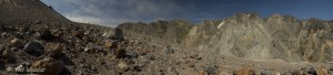 Volcan Chaiten Crater Wall